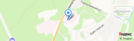 Городская больница №5 на карте Барнаула