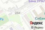 Схема проезда до компании У Аришки в Барнауле