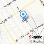 Валентина на карте Барнаула