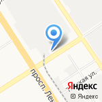 Роснефть на карте Барнаула