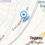 Алтайнеруд на карте Барнаула