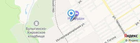 Радио Милицейская волна в Барнауле на карте Барнаула