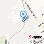 Промстройполимер-Алтай на карте Барнаула