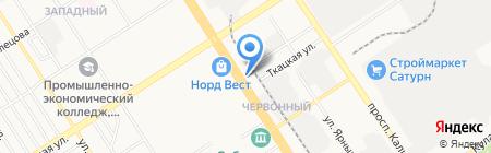 Сон на карте Барнаула