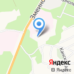 Обь на карте Барнаула