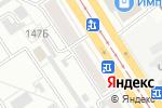 Схема проезда до компании Samson в Барнауле
