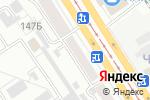 Схема проезда до компании МОДЕЛЬ-Е в Барнауле