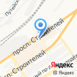 Главное Управление электроэнергетики на карте Барнаула