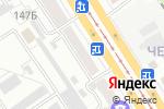 Схема проезда до компании Азалия в Барнауле