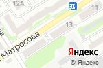 Схема проезда до компании Вечность в Барнауле