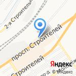 Инструментальный Центр на карте Барнаула