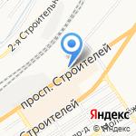 City Stone на карте Барнаула