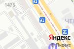Схема проезда до компании ТвойБилет в Барнауле