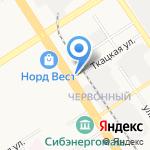 Шаурма №1 на карте Барнаула