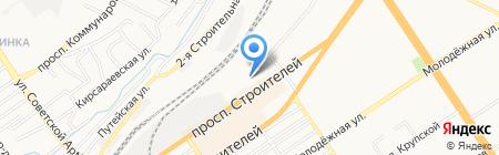 Пункт централизованной охраны №1 Управления вневедомственной охраны по г. Барнаулу на карте Барнаула