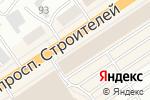 Схема проезда до компании 220 Вольт в Барнауле