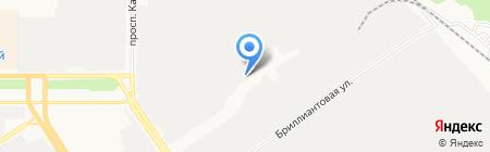 АВТО ПЛЮС на карте Барнаула