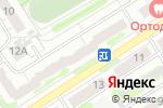 Схема проезда до компании Мир времени в Барнауле