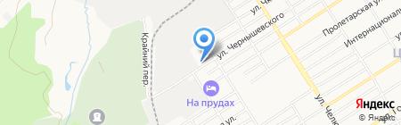 ААЭП на карте Барнаула