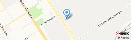 Зенон-Барнаул на карте Барнаула