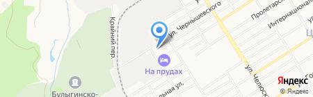 Барнаулстройизыскания на карте Барнаула