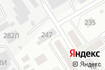 Схема проезда до компании КВАДРАТ МАСТЕР в Барнауле