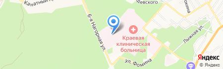 Алтай Хлеб на карте Барнаула