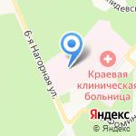 Детский туберкулезный санаторий на карте Барнаула
