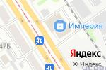 Схема проезда до компании ABC в Барнауле