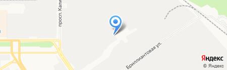 Кват-Ра на карте Барнаула