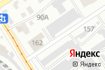 Схема проезда до компании Копейка.ру в Барнауле