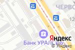 Схема проезда до компании Шоу сумасшедшего профессора Николя в Барнауле