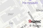 Схема проезда до компании Первая линия в Барнауле