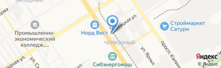 Фотостудия имени В. Гребенкина на карте Барнаула