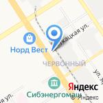 Танцевальный гардероб на карте Барнаула