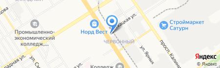 Медэкспорт-Северная звезда на карте Барнаула