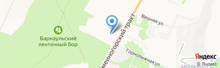 Детский сад №80 на карте Барнаула