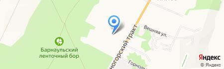 ПК Сервис на карте Барнаула