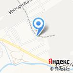 Арисмад на карте Барнаула