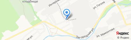 СТК-Сервис на карте Барнаула