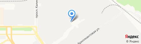 Электропрофсоюз на карте Барнаула