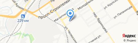 Копейка.ру на карте Барнаула