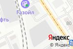 Схема проезда до компании АльфаТекс в Барнауле