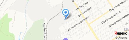 Алтайгазаппарат на карте Барнаула