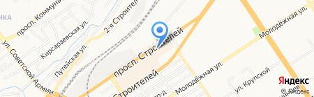 Сварщик Алтая на карте Барнаула