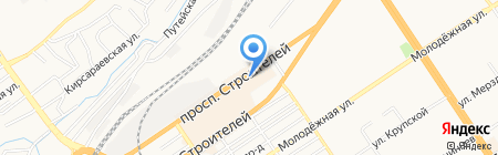 АВКТРАНС на карте Барнаула