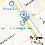 Фигура+ на карте Барнаула