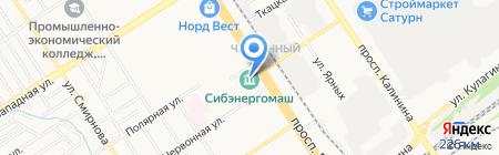 Kassy.ru на карте Барнаула