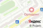 Схема проезда до компании Настроение в Барнауле