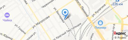 Алтайхолод на карте Барнаула